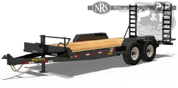 2021 Big Tex Trailers 14ET-18BK 18 ' Flatbed Trailer