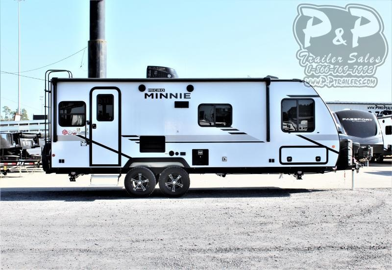 2021 Winnebago Micro Minnie 2225RL 25 ' Travel Trailer RV