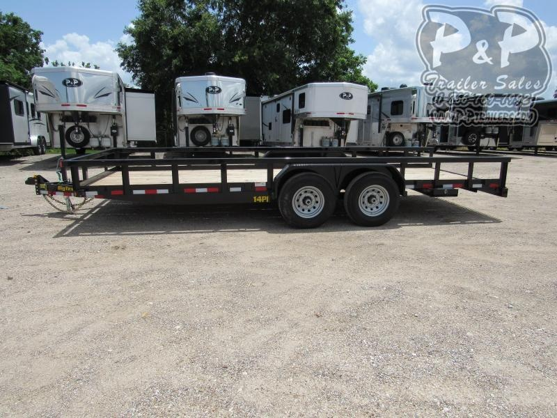 2020 Big Tex Trailers 14PI-20BK 20 ft Utility Trailer