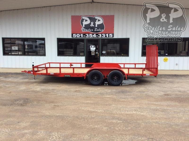 2020 Wicked Trailer Manufacturing UT8218TA-E 18 ' Utility Trailer