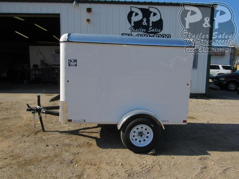 2021 Carry-On 5X8 CGREC 8 ' Enclosed Cargo Trailer