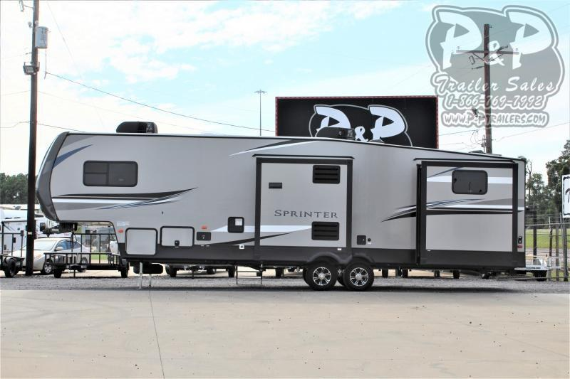 2021 Keystone RV Sprinter Campfire 32BH 37 ' Fifth Wheel Campers RV