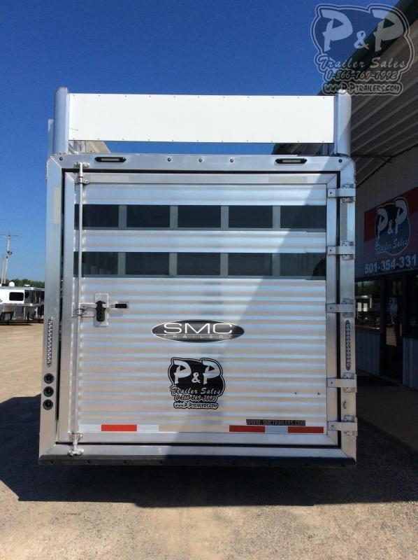 2021 SMC Horse Trailers SLE81613SSRT Livestock Trailer LQ