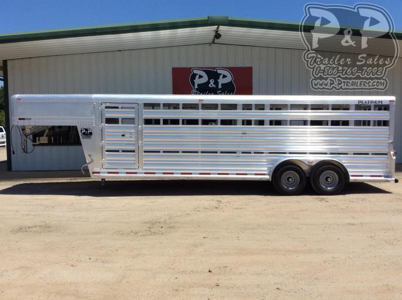 2021 Platinum Coach 724STK Livestock Trailer