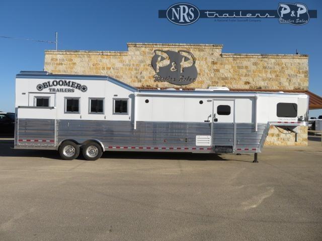 2021 Bloomer 8413PCPL 4 Horse Slant Load Trailer 13 FT LQ w/ Ramps