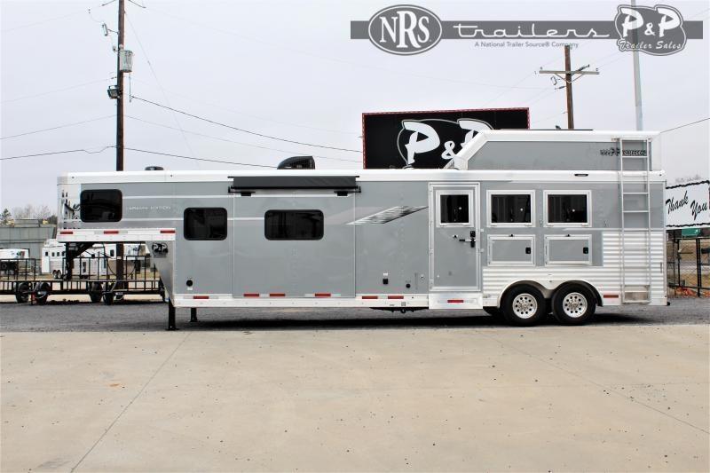 2021 SMC Horse Trailers SL8314SSR 3 Horse Slant Load Trailer 14 FT LQ w/ Slideouts