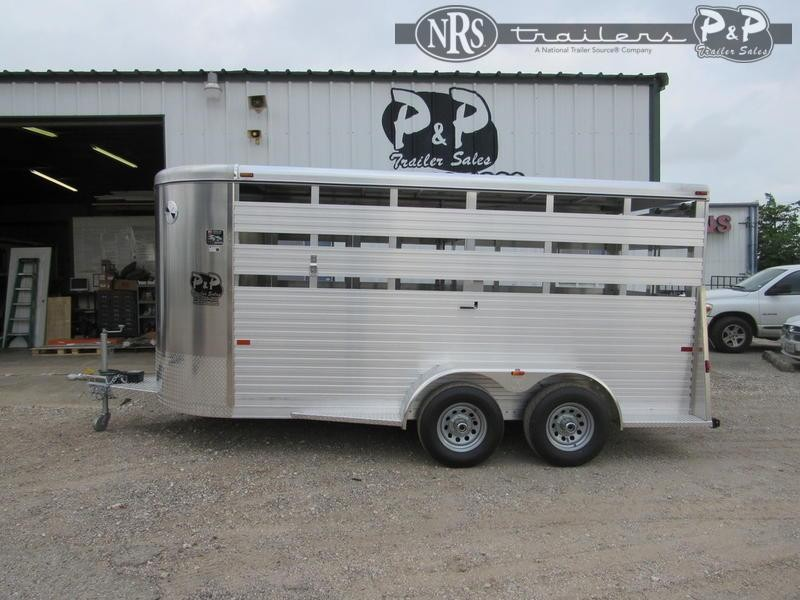 2021 W-W Trailer All Alum 6' Wide Livestock Trailer