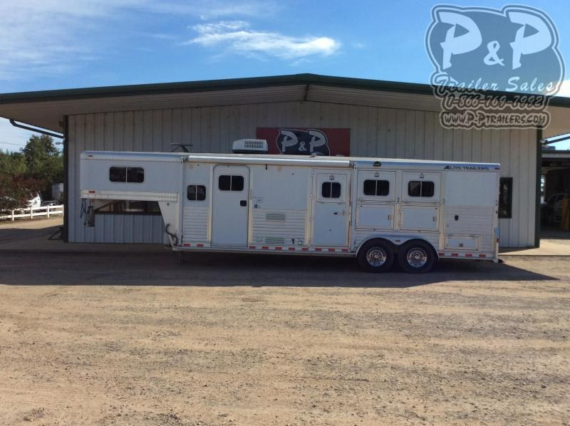 2006 Elite Trailers 7308 3 Horse Slant Load Trailer 8 FT LQ