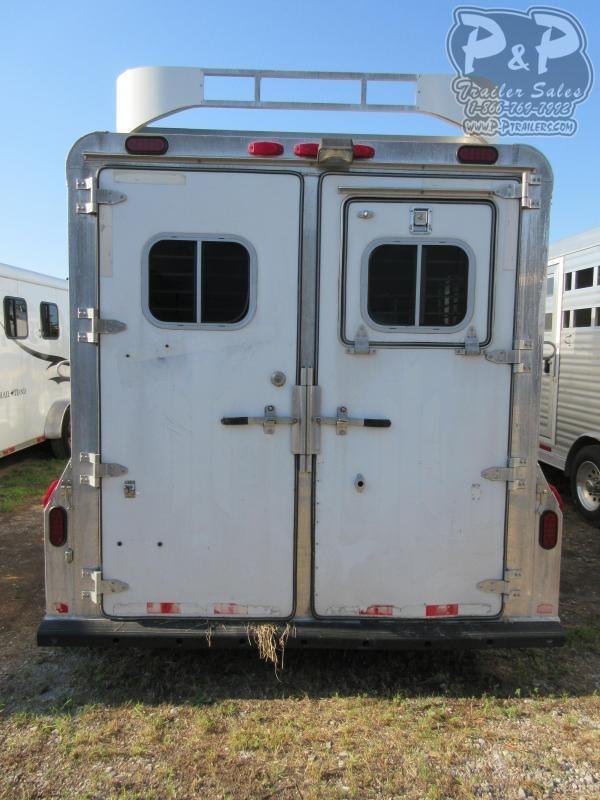 1999 4-Star Trailers 76GN 6 Horse Slant Load Trailer w/ Ramps