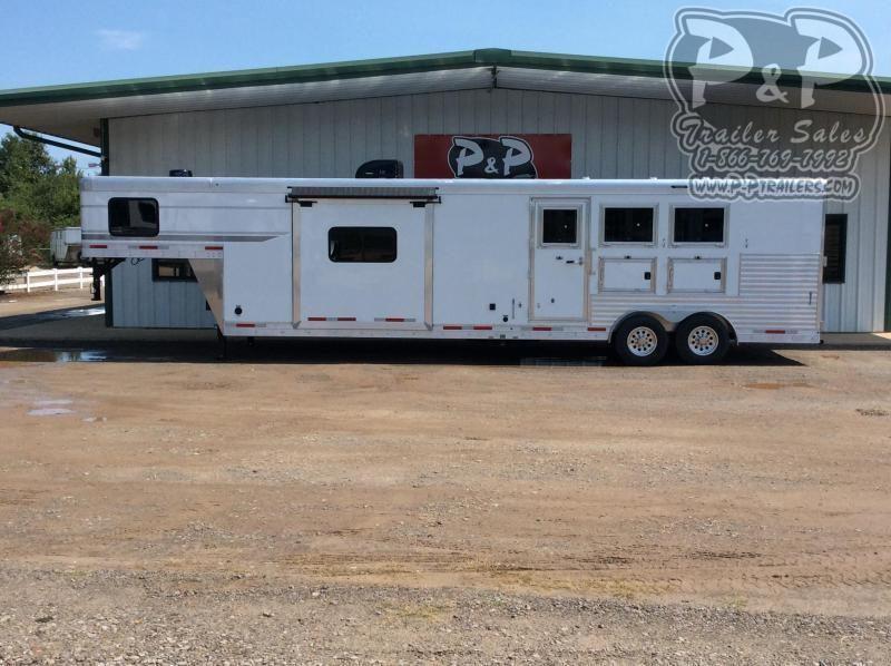 2021 SMC Horse Trailers SP8315SSR 3 Horse Slant Load Trailer 15 FT LQ With Slides