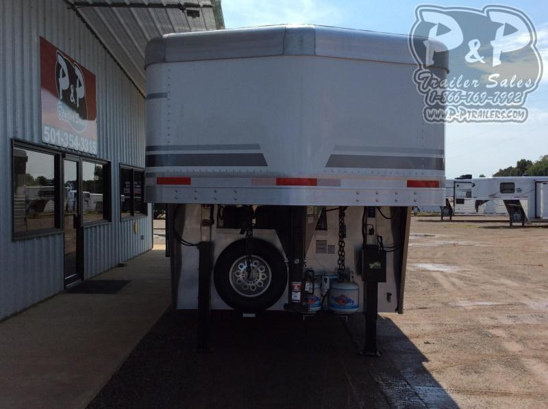 2021 SMC Horse Trailers SP8315SSR 3 Horse Slant Load Trailer 15 FT LQ With Slides
