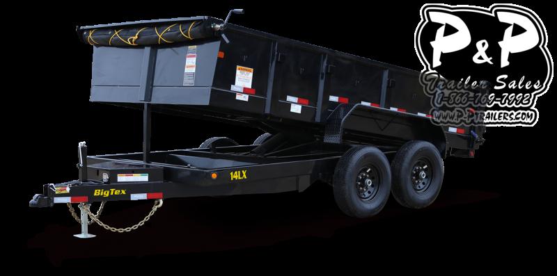 2021 Big Tex Trailers 14LX 14BK7SIRPD 14 Dump Trailer