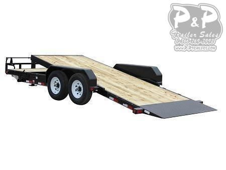 2021 PJ Trailers 6 in. Channel Tilt (T6) T6J2072BTTK 20 ' Flatbed Trailer