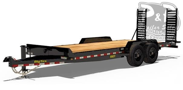 2021 Big Tex Trailers 16ET Equipment Trailer