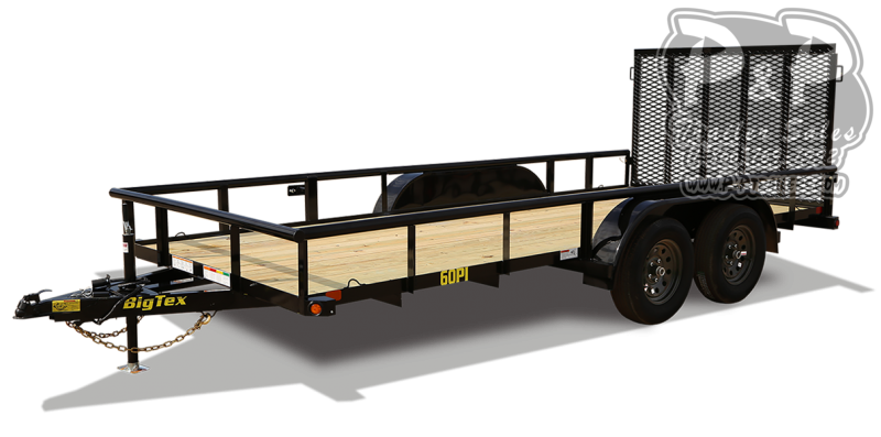 2021 Big Tex Trailers 60PI 14BK4RG 14 Utility Trailer