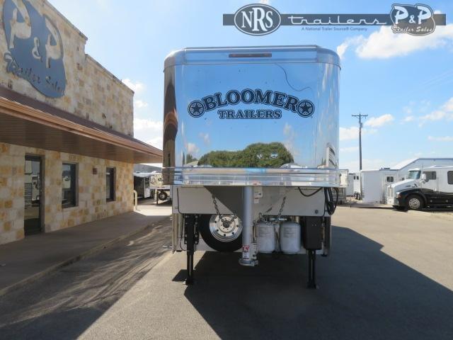 2021 Bloomer PC 8418PCOLCE PC Load Outlaw Conversions 4 Horse Slant Load Trailer 18 FT LQ w/ Slideouts