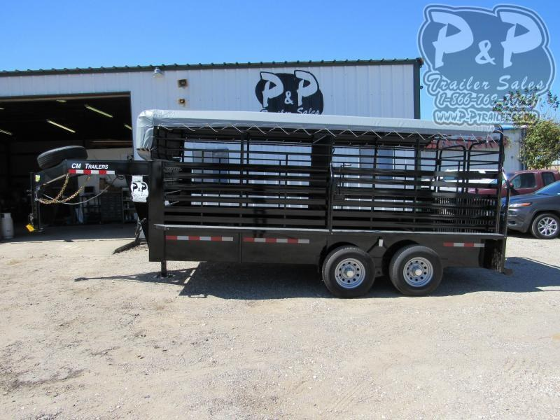 2021 CM BRUSH BUSTER 16 X 6.8 X 6.6 16 ' Livestock Trailer