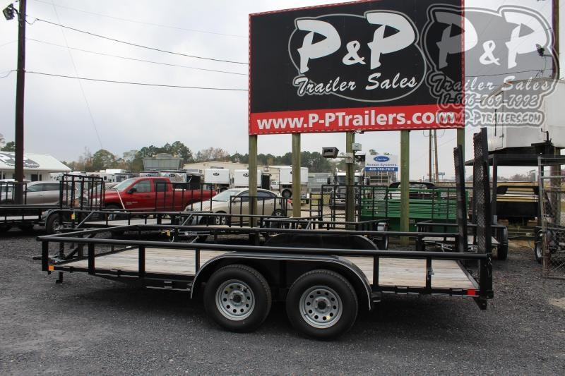 2020 P and P PPTA16X83GDFURPT 16 ft Utility Trailer