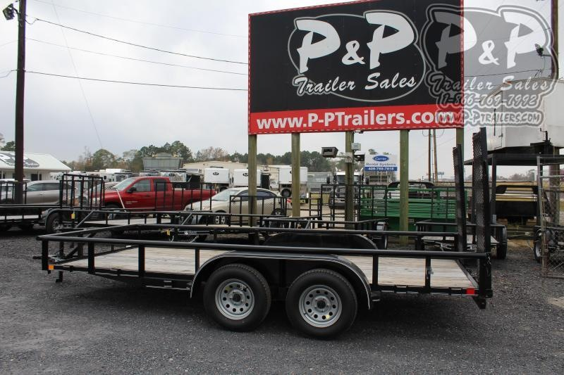 """2021 P and P PPTA16X83GDFURPT 83"""" x 16 ' Utility Trailer"""