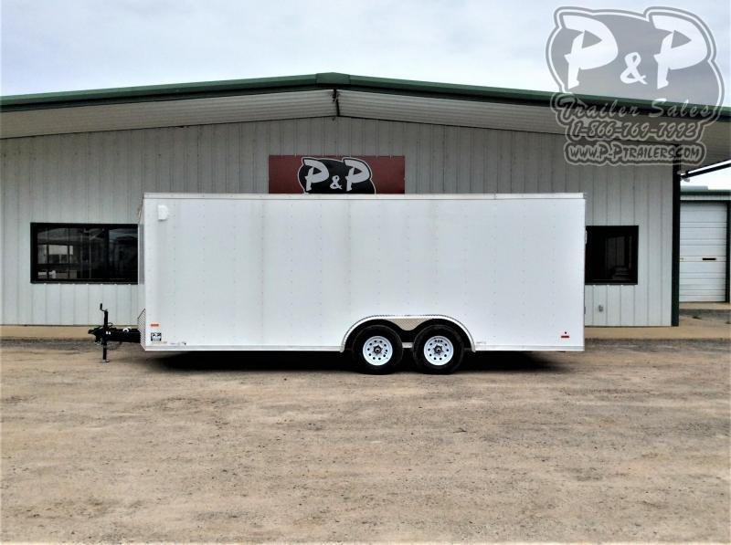 2021 RC Trailers 2DRWTR8 5X20TA3FTW 20 Enclosed Cargo Trailer