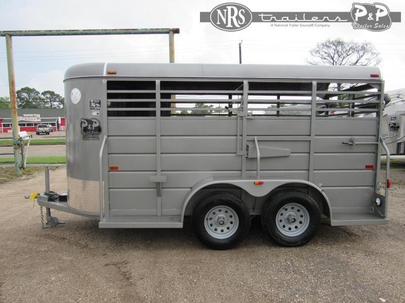 2020 W W Trailer 14 x 5 Stock 14 ft Livestock Trailer