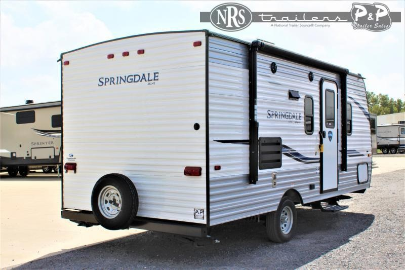 2022 Keystone RV Springdale Mini 1760BH 21 ' Travel Trailer RV