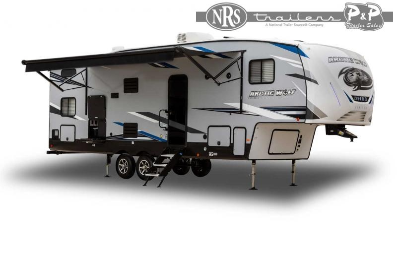 2022 Forest River Arctic Wolf 3550SUITE 38 ' Fifth Wheel Campers RV