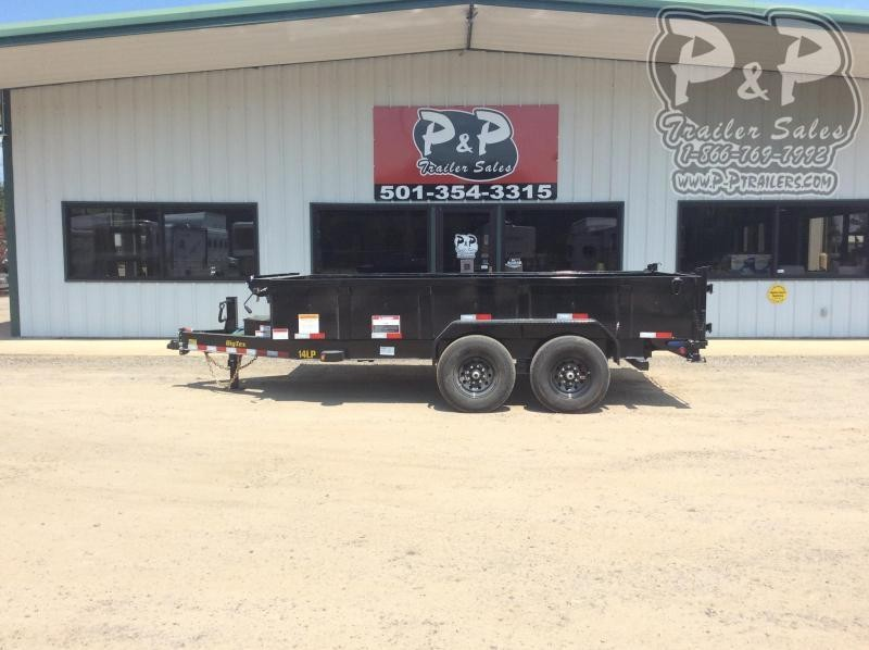 2021 Big Tex Trailers 14LP-14BK 6 SIRPD Dump Trailer