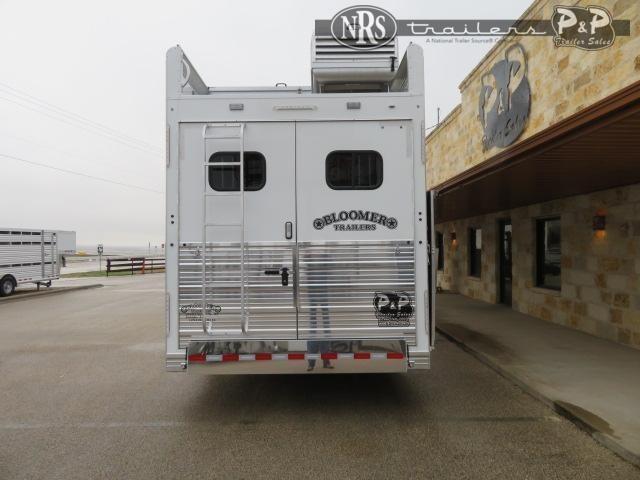 2021 Bloomer 8418PCOLCW 4 Horse Slant Load Trailer 18 FT LQ w/ Slideouts