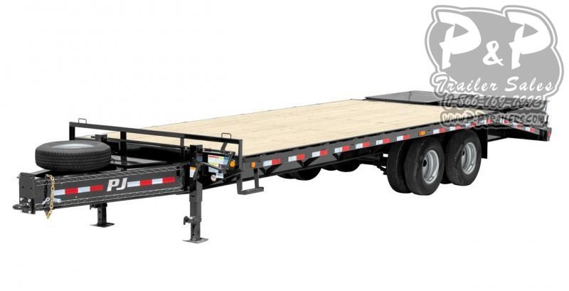 2020 PJ Trailers Classic Pintle with Duals (PD) Flatbed Trailer