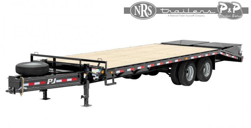 2021 PJ Trailers Classic Pintle with Duals (PL) Flatbed Trailer