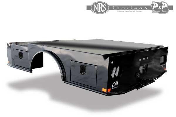 CM WD Steel Skirted Welder Truck Bed