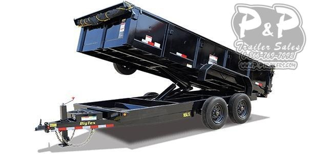 2021 Big Tex Trailers 16LX-14 Dump Trailer