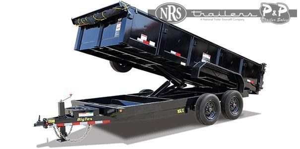 2021 Big Tex Trailers 16LX-14 Dump Trailer