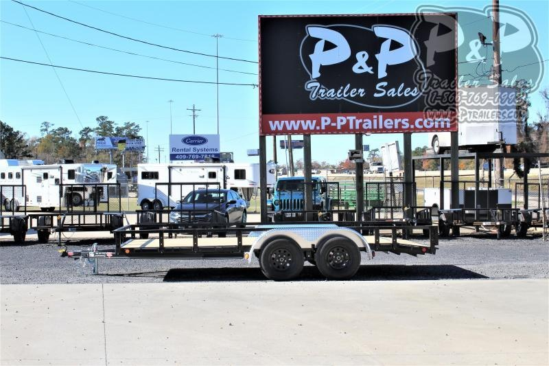 2021 PJ Trailers UL21632CS2KT 16 ' Flatbed Trailer