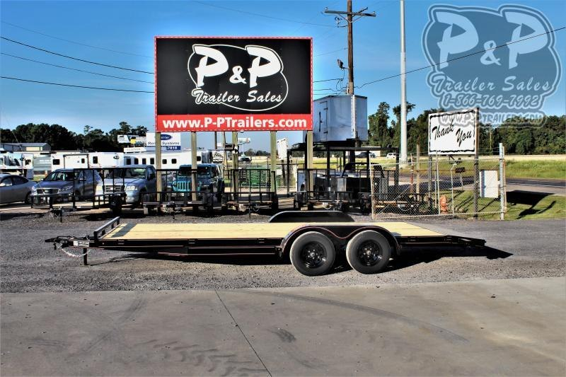 2020 P and P PPWFCH20x83GDSIR 20 ' Flatbed Trailer