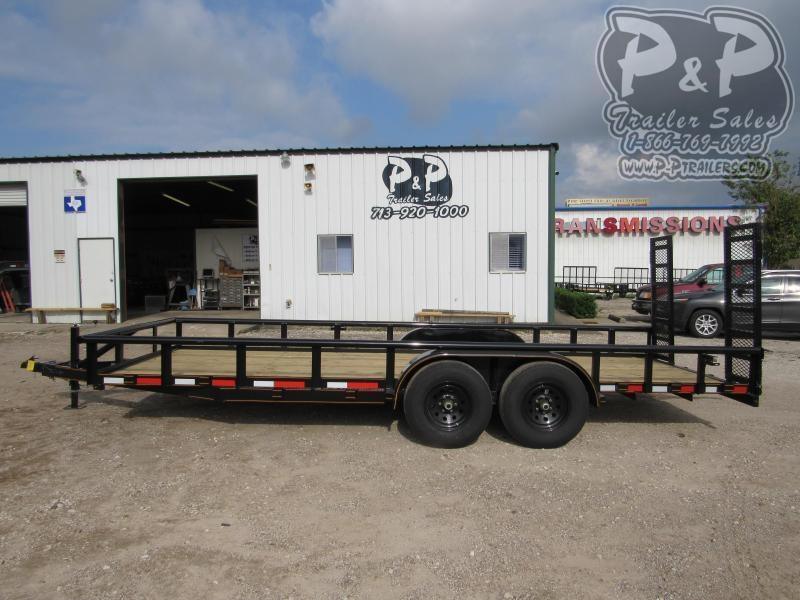 2021 P and P PPTA20X83MDFURPT 20 ' Utility Trailer