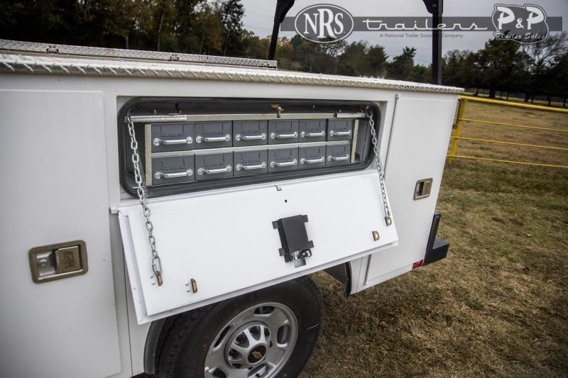 CM SB Steel Service Body Truck Bed