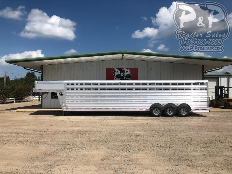 2020 Platinum Coach 832STK 32 ft Livestock Trailer