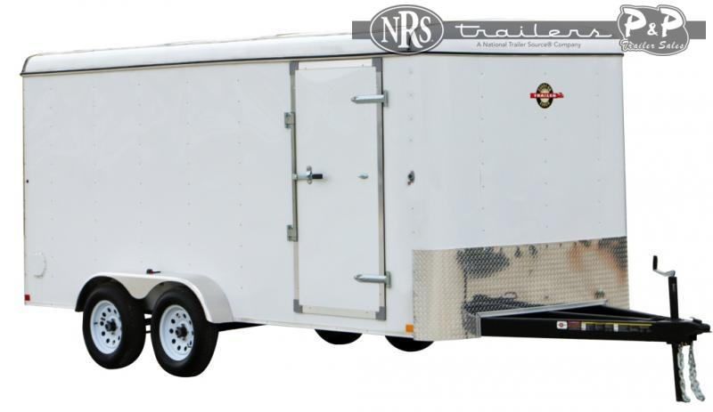 2021 Carry-On 6X12CG7K 16 ' Enclosed Cargo Trailer