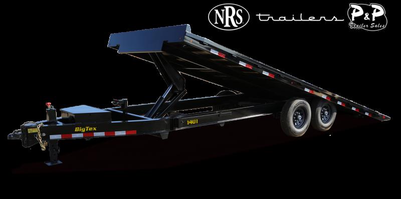 2022 Big Tex Trailers 14OT-22 Tilt 22 ' Equipment Trailer