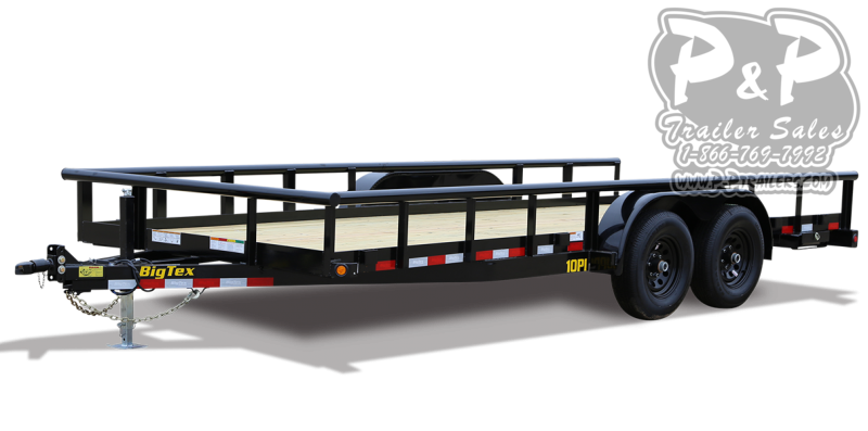 2021 Big Tex Trailers 10PI 20 Utility Trailer