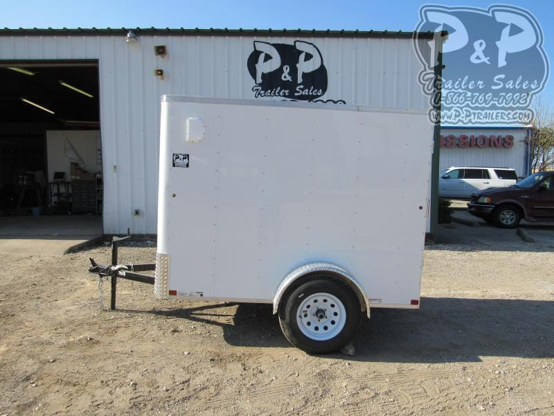 2021 Carry-On 5X8 CGRCM 8 ' Enclosed Cargo Trailer