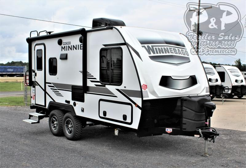 2021 Winnebago Micro Minnie 1808FBS 20 ' Travel Trailer RV