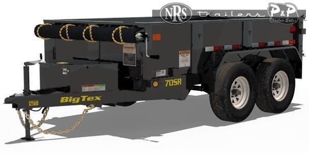 2022 Big Tex Trailers 70SR-10-5WDD 10 ' Dump Trailer