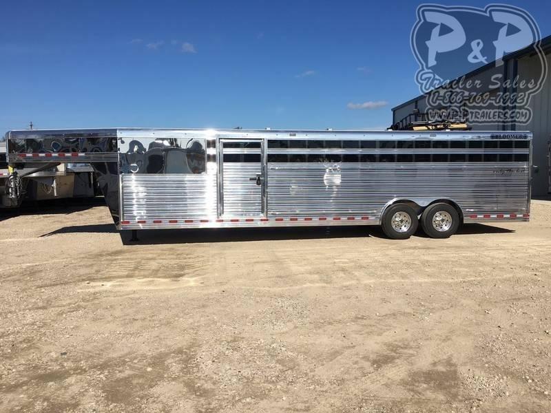 2020 Bloomer 28' Stock trailer 8' wide 28 ft Livestock Trailer