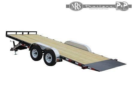 2021 PJ Trailers 83 in. Hydraulic Quick Tilt (TH) 16 ' Flatbed Trailer