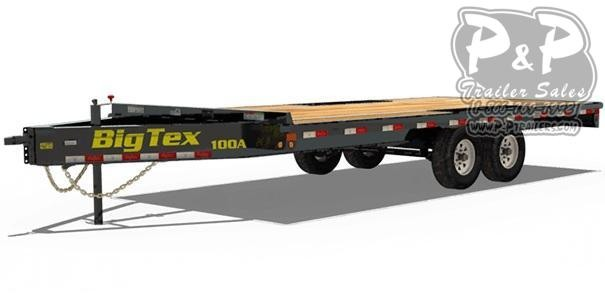 2021 Big Tex Trailers 10OA-18 Equipment Trailer