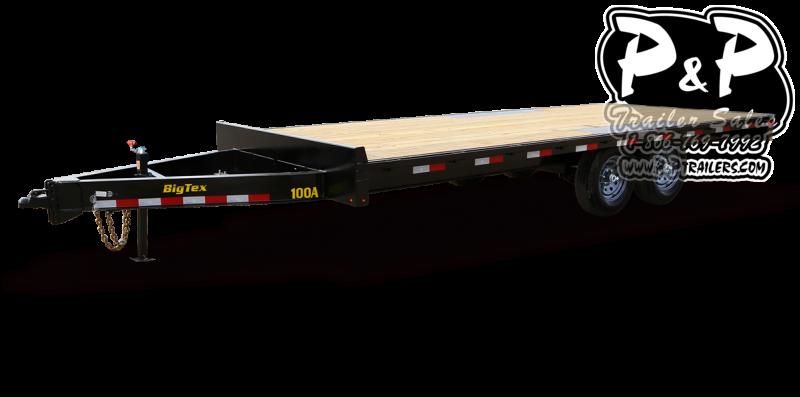 2021 Big Tex Trailers 10OA 20 Equipment Trailer