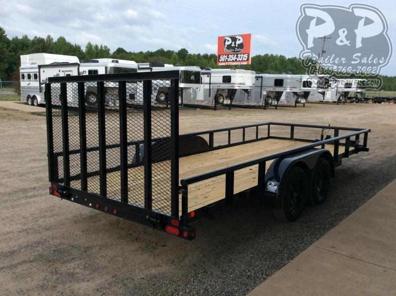 2021 Big Tex Trailers 70PI-18XBK4RG Utility Trailer